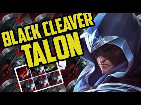 BLACK CLEAVERS TALON?- Ranked Journey (Pre-Season 8 League of Legends) thumbnail
