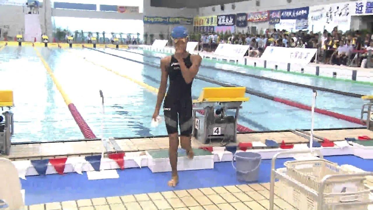 2013 全国中学校体育大会 競泳 1