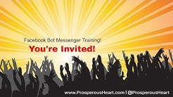 Invitation To Facebook Messenger Bot Toturial Using ManyChat With Jesse Jameson
