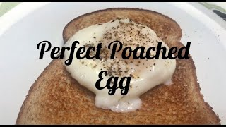 NO Fail Microwave Perfect Poached Egg