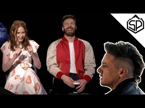 Реакция актёров «Мстители: Финал» на ирокез Соколиного глаза