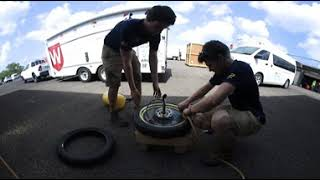 Michigan Solar Car prepares for qualifying (360 Video)