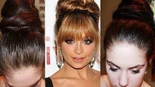 Nicole Richie Inspired Formal Hair Bun