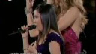 "Charice duet with Celine Dion ""Because You Loved Me"" at Madison Square Garden September 15, 2008 (HQ) (dts)"