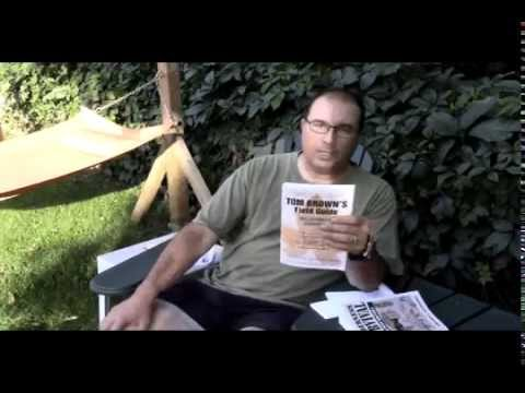 Survival Book Club Part 9 Tom Brown's Wilderness Survival