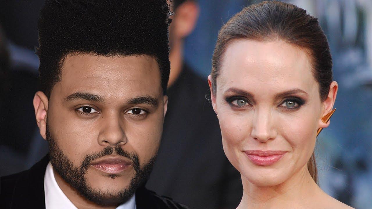 Has weeknd who dated the Angelina Jolie