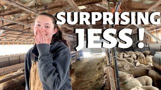 I CAN'T BELIEVE WE PULLED THIS OFF! (A Weaning Day Surprise for Jess) Vlog 241