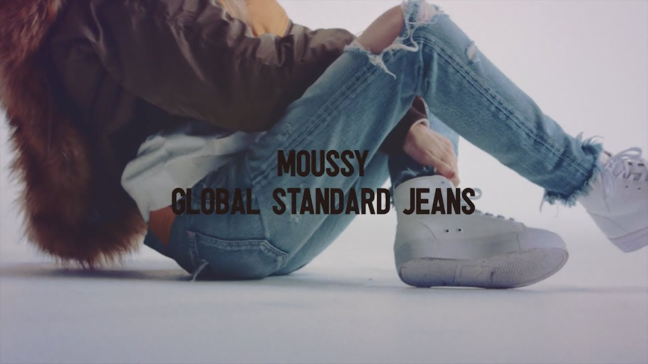"#MOUSSYJEANS ""GLOBAL STANDARD JEANS"""