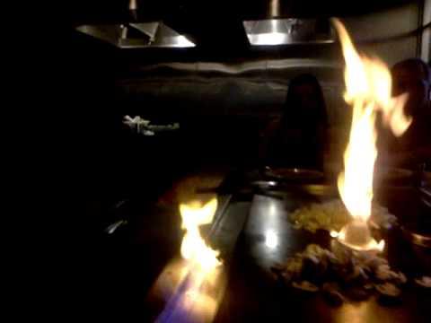Amarillo Eating At Sakura Japanese Restaurant