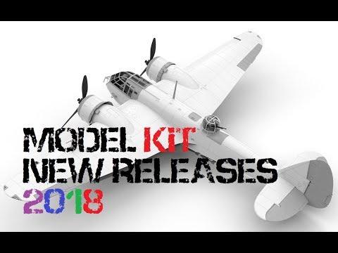Model Kit Releases 2018 Revell Airfix Tamiya - YouTube