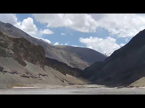 Confluence of Indus And Zanskar River, Sangam Point- Ladakh