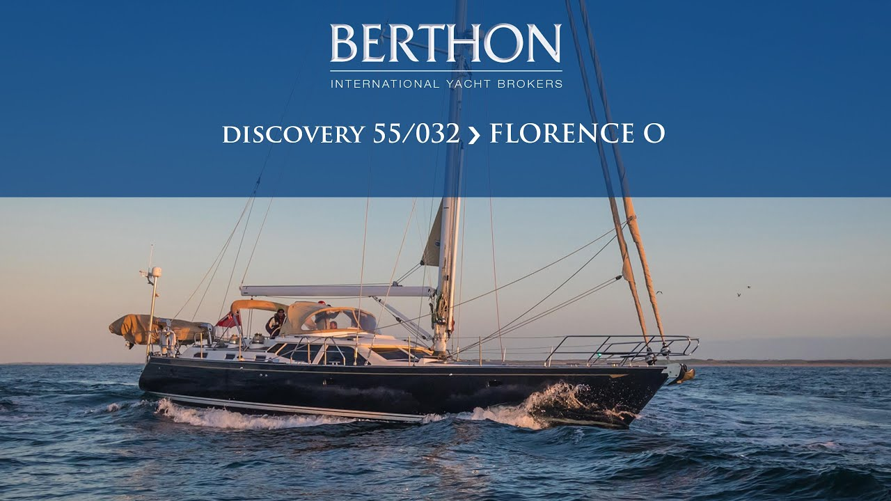 Discovery 55 (FLORENCE O) - Yacht for Sale - Berthon International Yacht Brokers (2020)