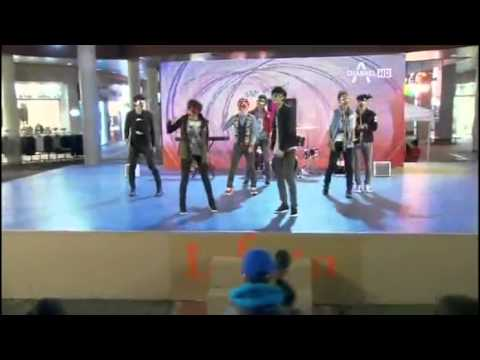 K-pop extreme survival ep 9 (cut) M2 Junior - stand up.mp4