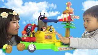 アンパンマン のぼれ!コロコロ大冒険の島 おもちゃコロロン anpanman toy thumbnail