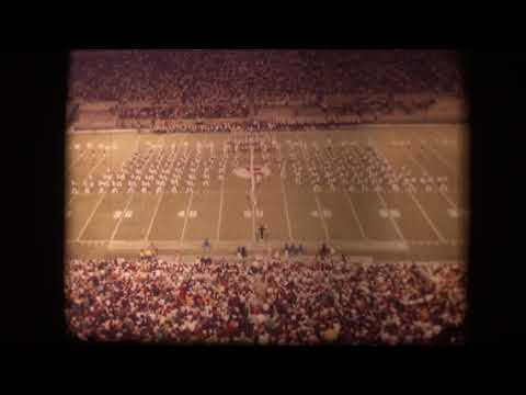 Memphis State University Marching Band - 1976 (Halftime at Tulsa)
