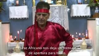 Gira llegada Africano Pedra Vermelha - Fiesta Pay Oxalá (11-11-12)
