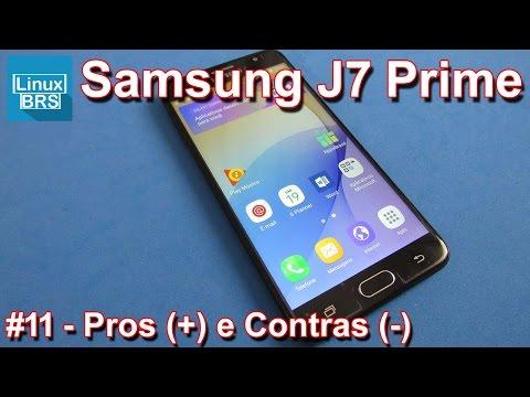 Samsung Galaxy J7 Prime - Prós e Contras