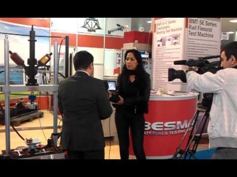 BESMAK - Eurasia Rail Fair - TRT Interview