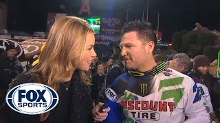 Chad Reed Holds Off Ken Roczen for Win - 2014 Supercross