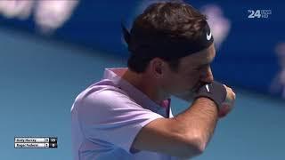 Glasgow Tennis Exhibition Federer Murray 2017