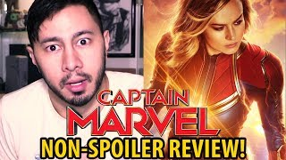 CAPTAIN MARVEL | Non-Spoiler Review