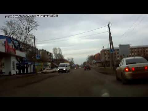 погоня от ДПС в городе Тайшет