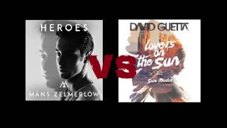 Måns Zelmerlöw vs David Guetta - Heroes on the sun