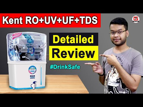 Kent Grand Review | KENT Grand 8-Litres Wall-Mountable RO + UV/UF + TDS | Kent Grand Unboxing