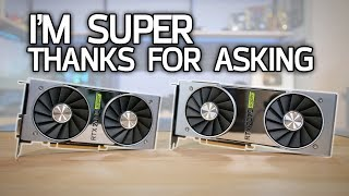 RTX 2060 Super and RTX 2070 Super Review with Benchmarks!
