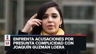 Detienen a Emma Coronel, esposa de 'El Chapo'