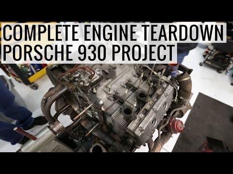 Complete Engine Teardown - Porsche 930 Project - EP02