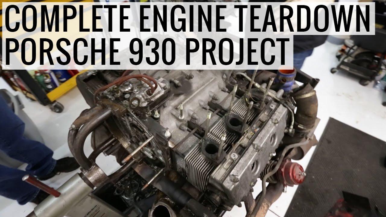 complete engine teardown porsche 930 project ep02 youtube porsche 911 engine swap porsche 930 engine wiring #13