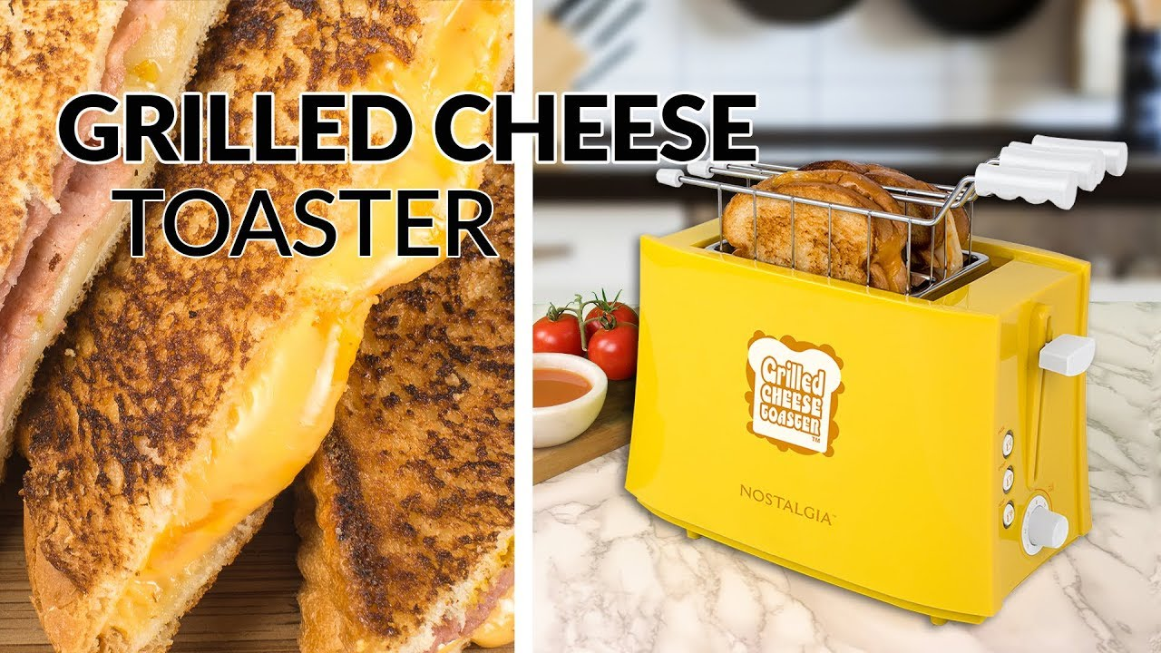 Tcs2 Grilled Cheese Sandwich Toaster Youtube