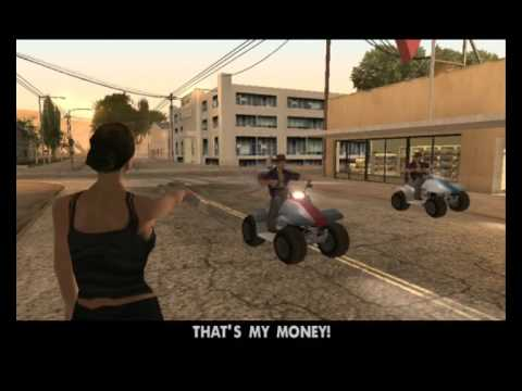 The Best Moments of Crazy and Funny Catalina GTA San Andreas