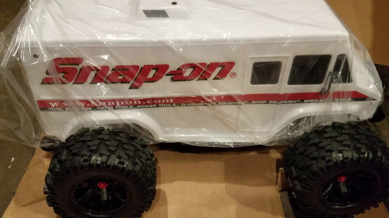 Unboxing The New Snap On X Maxx 8s Van Body Limited Edition Youtube