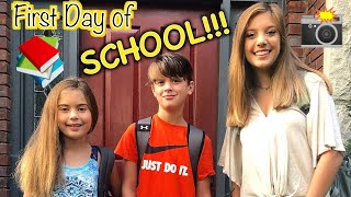 FIRST DAY BACK TO SCHOOL! 📚✂️✏️