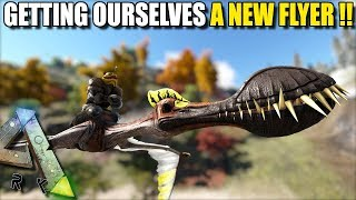 GETTING OURSELVES A NEW FLYER !!    STEAMPUNK   ARK SURVIVAL EVOLVED EP6