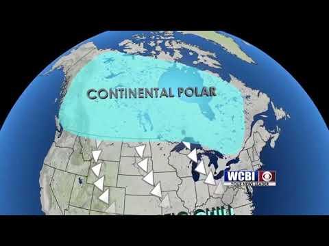 Wcbi Weather Works 3 4 18 Air Masses Youtube