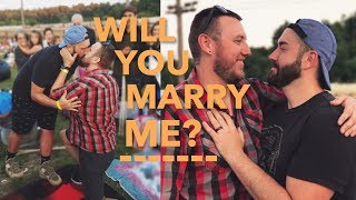 WILL YOU MARRY ME? | SURPRISE GAY PROPOSAL
