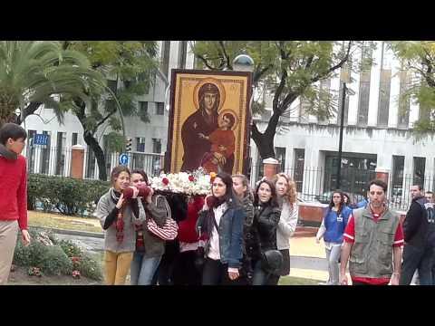 Cruz de la Juventud en las hermanitas de los pobres