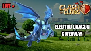 Live Electro Dragon Giveaway and Base Visit