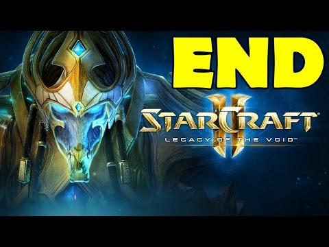 Starcraft 2 Legacy of the Void Ending Final Mission Epilogue Cutscene Gameplay Walkthrough  Brutal