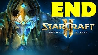 Starcraft 2 Legacy of the Void Ending Final Mission Epilogue Cutscene Gameplay Walkthrough  Brutal