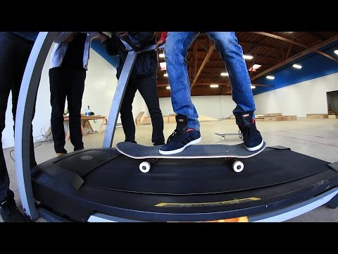 TREADMILL GAME OF SKATE! | STUPID SKATE EP 81
