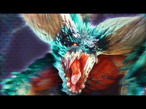 NOOB vs. NERGIGANTE! (Beta Final Boss)   Monster Hunter World
