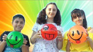 The Color Song with Guka Maria Nastya and Smile color Balls