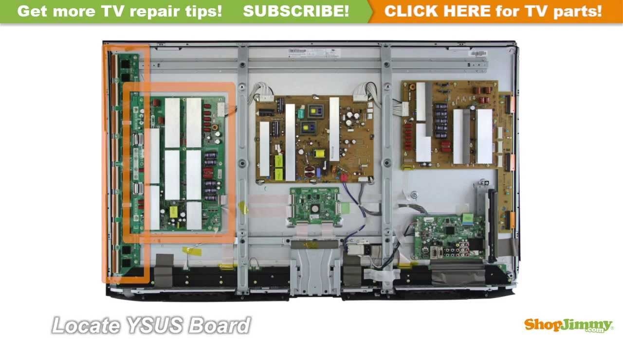 lg plasma tv repair how to replace ebr62294102 ysus board in lg rh youtube com television repair guide plasma tv repair guide