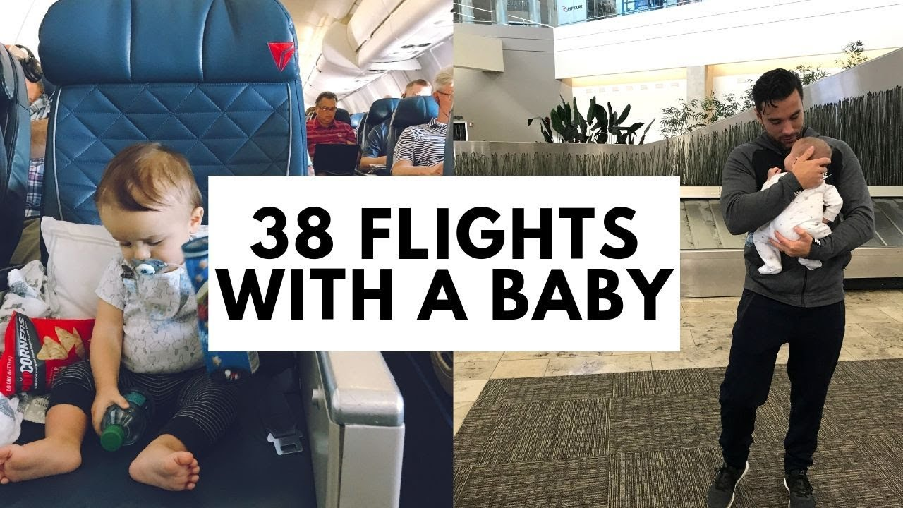 38 FLIGHTS WITH A BABY | Travel Hacks for Flying