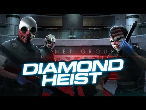 Download Youtube: [Payday 2] One Down - Diamond Heist (Solo Stealth)