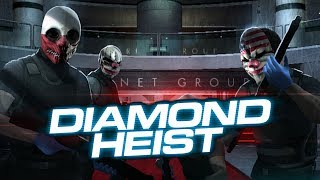 [Payday 2] One Down - Diamond Heist (Solo Stealth)